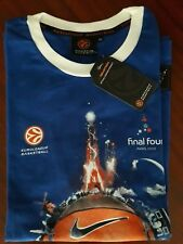 "Camiseta/T-Shirt- FINAL4- EUROLEAGUE BASKETBALL.PARIS 2010-Size ""XS"".100% Cotton"
