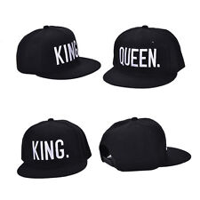 King And Queen Letter Hat Adjustable Baseball Cap Hats Hip Hop Lovers Snapback