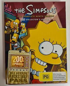 The Simpsons Series Complete Season 9   DVD Sets Region 4 R4