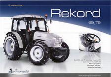 Lamborghini Rekord 05 / 2010 catalogue brochure tracteur schlepper tractor