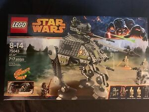LEGO STAR WARS 75043 AT-AP SET New Retired - Released 2014 CLONE COMMANDER GREE