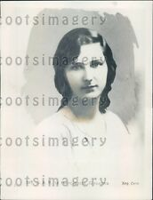 1929 Lovely Princess Giovanna Daughter of King & Queen of Italy Press Photo