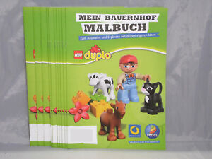 Lego Duplo 10 x Mein Bauernhof Malbuch, 10 Seiten Bauer Traktor Tiere #1