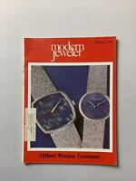 Vintage Modern Jeweler Magazine February 1975 - Jewelry, Watches Gems Diamonds