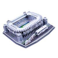 3D Puzzle Santiago Bernabé Stadium Football Field Model Self Assembled Kits