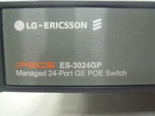 LG-ERICSSON iPECS ES-3024GP Managed GE POE  10/100/1000 GIGABIT  Switch