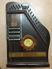 ZITHER SPECIAL,4 CHORD AUTOHARP ,PANAMA MODEL 1915 PIANOETTE ADVERTISING CO