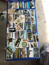 40 Assorted Vintage Postcards Lot Niagra Falls Boy Scouts Cities Foreign  Plus