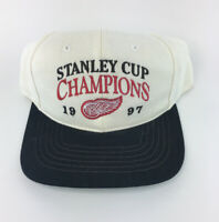Detroit Red Wings 1997 NHL Stanley Cup Champions Adjustable Snapback Cap Hat