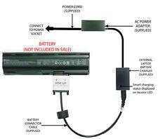 External Laptop Battery Charger for HP Pavilion G4 G6 G7, MU06 593553-x 593554-x