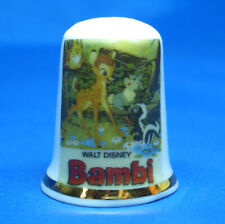 Birchcroft Thimble  -- Bambi Movie Poster --   Free Dome Box