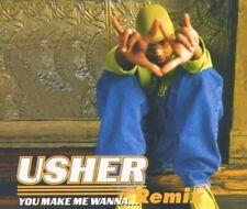 Usher You make me wanna.. (Remix, 1997)  [Maxi-CD]