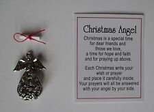 c Christmas Angel box Charm open up write carry wish or prayer Ganz carry with u