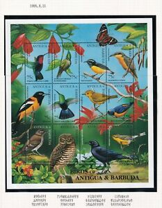 (tbd0106) Antigua Barbuda 1995 bird MNH