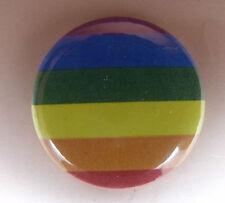 1 inch button badge  LGBT rainbow pride lesbian gay bisexual transgender