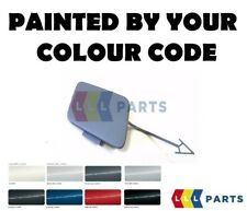 AUDI A6 ALLROAD NEW FRONT BUMPER TOW HOOK COVER CAP PAINTED BY YOUR COLOUR CODE