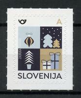 Slovenia Christmas Stamps 2019 MNH New Year Symbols Trees Value A 1v S/A Set
