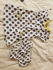baby boden dress and knickers set 3-6m