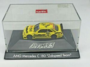 "AMG Mercedes C 180 "" Zakspeed Team "" - Herpa - Escala 1:87 - 1173/8"