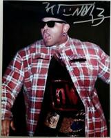 2015 Leaf Wrestling KONNAN Signed 8x10 Photo Wrestling Autograph LEAF COA