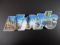 Leipzig Germany Premium Souvenir Magnet,Polyresin Großbuchstaben,NEU