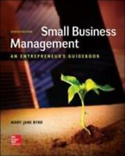 Small Business Management : An Entrepreneur's Guidebook by Byrd and Megginson (2
