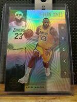 2019-20 Panini Illusions Lebron James Lakers
