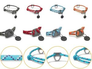 Dog Rope Collar Ruffwear Puppy Knot-a-Collar Comfortable Reflective Adjustable