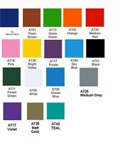 A4 sheet Avery  700 series sticker / decal GLOSS vinyl MANY COLORS