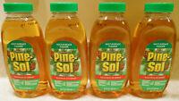 LOT Pine-Sol Cleaner Disinfectant 4 Bottles 9.5oz disinfecting Pine Sol cleaner