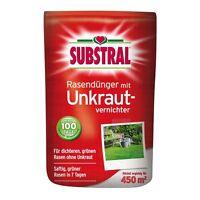 Substral Rasen-Dünger mit Unkrautvernichter - 9 kg  Rasendünger mit UV Dünger