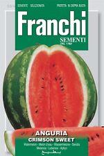Franchi semillas de Italia-Sandía Crimson sweet-semillas -