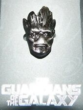Marvel Comics Guardians of the Galaxy The Groot Head Pewter Lapel Pin NEW UNUSED