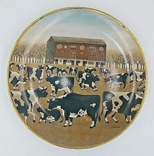 Spring Pasture Franklin Mint American Folk Art Collection Plate Lowell Herrero