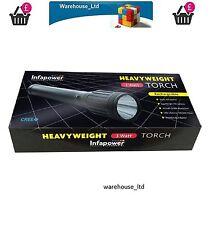 F010 Infapower pesi massimi impermeabile CREE LED RICARICABILE TORCIA IN ALLUMINIO 3W