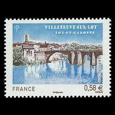 France 2010 - Tourism - Villeneuve sur Lot Architecture - Sc 3907 MNH