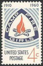 USA 1960 Camp Fire Girls/50th Anniversary/Guides/Youth/Leisure 1v (n43623)