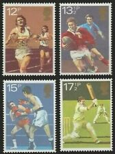 UK Great Britain 1980 MNH 4v, Sports, Cricket, Boxing, Rugby, Running