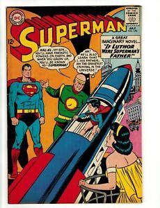 SUPERMAN #170 COMIC BOOK ~ DC Silver Age 1964 ~ VF/NM!