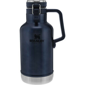 Stanley Classic 2 qt. Vacuum Insulated Stainless Steel Easy-Pour Growler