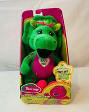 """Fisher-Price Barney I Love You Baby Bop Plush Singing 10"""" Toy New"""