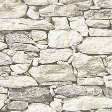Rock Stone Wallpaper New York Fieldstone Rustic Wall Paper CT40808 MADE IN U.S.A