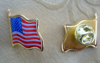 Anstecker Pin USA Amerika Fahne Star and Stripes