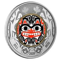 🇨🇦 Canada new $2 Dollars Coin (toonie), Special Haida Art GRIZZLY BEAR, 2020