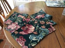 """7 Tapestry Doilies Reversible 17""""x17"""" New"""