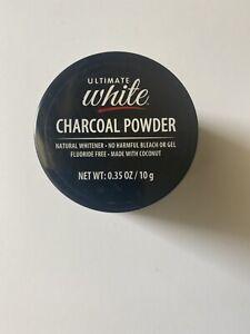 Ultimate White Natural Teeth Whitening Powder, 0.35 oz. Tubs