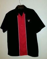 Sharp STEADY Customs  V8 Logo Size S Club Shirt Vintage Inspired Made in USA