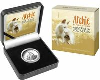 2017 ZOO SERIES ARCHIE ALPINE DINGO High Relief 1oz Silver Proof Coin