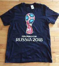 Adidas Fifa World Cup Soccer Mens Black T-Shirt Size L
