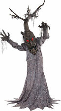 HALLOWEEN LIFE SIZE ANIMATED HAUNTED DEADWOOD TREE FOREST 72 PROP HAUNTED HOUSE